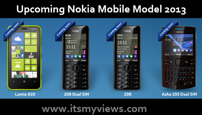 Latest Nokia Mobile 2013 Model   Up-coming Nokia Mobile Model